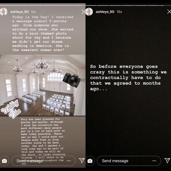 90 Day Fiance: Ashley Martson Instagram
