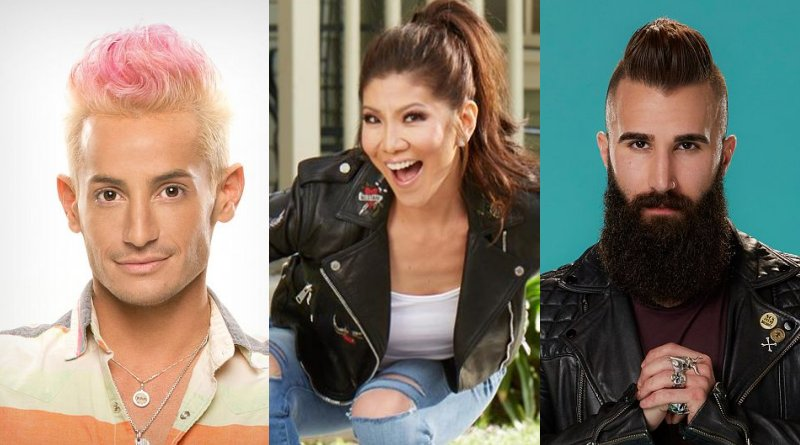 Big Brother: Julie Chen - Frankie Grande - Paul Abrahamian