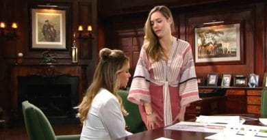 Bold and the Beautiful Spoilers: Flo Fulton (Katrina Bowden) - Hope Logan (Annika Noelle)