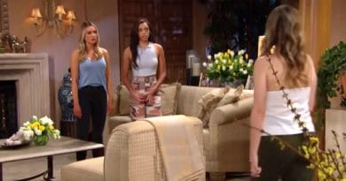 Bold and the Beautiful Spoilers: Flo Fulton (Katrina Bowden) - Zoe Buckingham (Kiara Barnes) - Hope Logan (Annika Noelle)