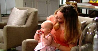 Bold and the Beautiful Spoilers: Hope Logan (Anikka Noelle) - Phoebe Forrester and Beth Spencer (Rosalind Aune and Isabella de Armas)