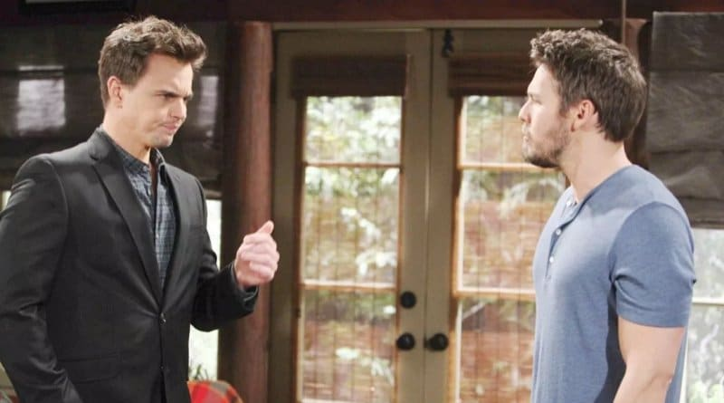 Bold and the Beautiful Spoilers: Wyatt Spencer (Darin Brooks) - Liam Spencer (Scott Clifton)