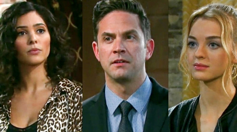 Days of Our Lives: Gabi Hernandez (Camila Banus) - Stefan DiMera (Brandon Barash) - Claire Brady (Olivia Rose Keegan)