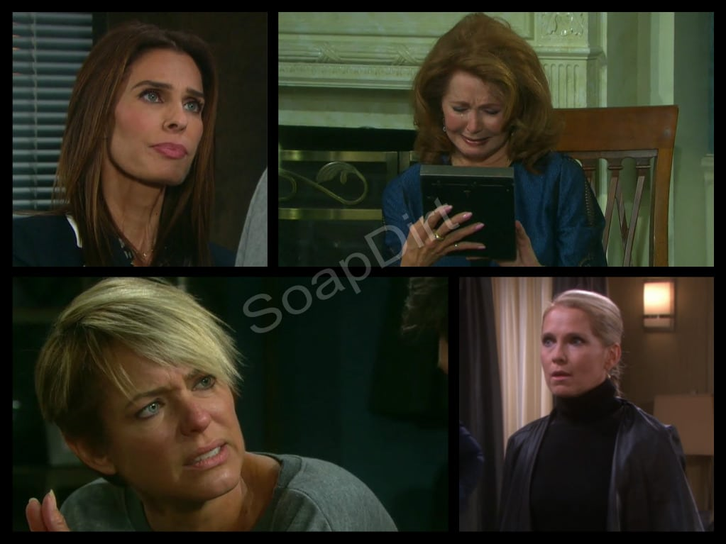 Days of Our Lives: Hope Brady (Kristian Alfonso)- Maggie Kiriakis (Suzanne Rogers) - Nicole walker (Arianne Zucker) - Jennifer Horton (Melissa Reeves)