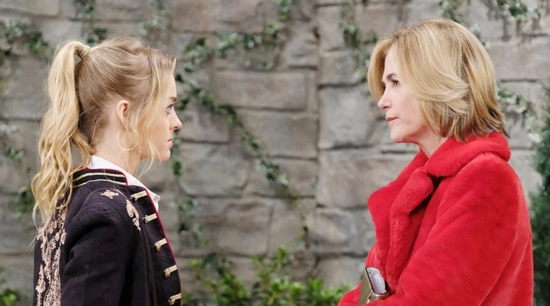 Days of Our Lives: Claire Brady (Olivia Rose Keegan) - Eve Donovan (Kassie DePaiva)
