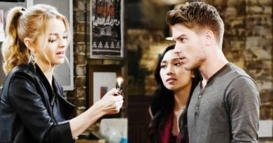 Days of Our Live Spoilers: Claire Brady (Olivia Rose Keegan) - Haley Chen (Thia Megia) - Tripp Dalton (Lucas Adams)