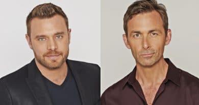 General Hospital: Drew Cain (Billy Miller) - Valentin Cassadine (James Patrick Stuart)