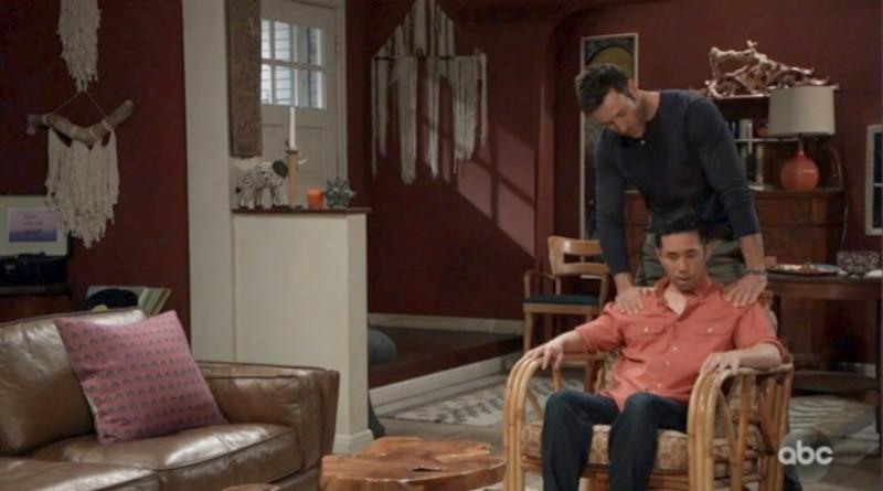 General Hospital Spoilers: Brad Cooper (Parry Shen) - Shiloh Archer (Coby Ryan McLaughlin)
