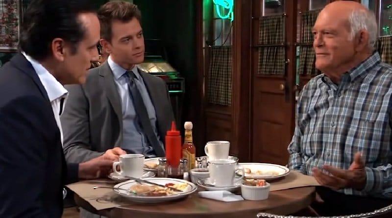 General Hospital Spoilers: Sonny Corinthos (Maurice Benard) - Michael Corinthos (Chad Duell) - Mike Corbin (Max Gail)