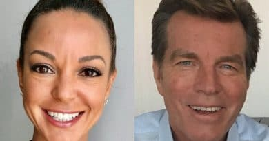 Young and the Restless: Celeste Rosales (Eva LaRue) - Jack Abbott (Peter Bergman)
