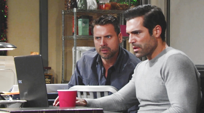 Young and the Restless: Nick Newman (Joshua Morrow) - Rey Rosales (Jordi Vilasuso)