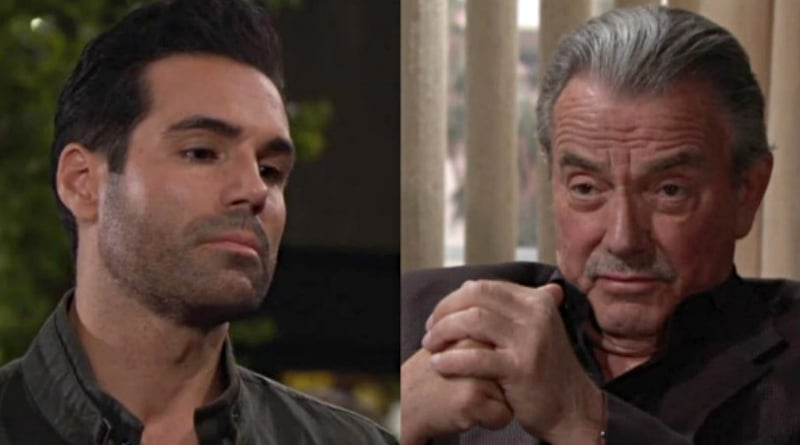 Young and the Restless: Rey Rosales (Jordi Vilasuso) - Victor Newman (Eric Braeden)
