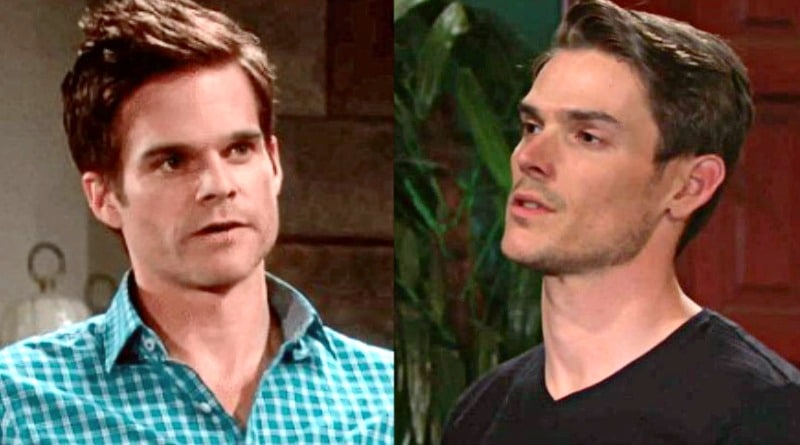 Young and the Restless Spoilers: Kevin Fisher (Greg Rikaart) - Adam Newman (Mark Grossman)