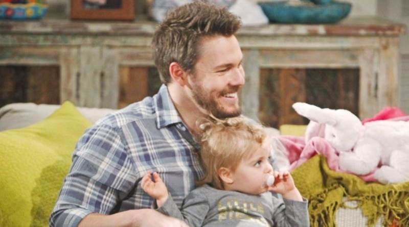 Bold and the Beautiful: Liam Spencer (Scott Clifton) - Kelly Spencer (Zoe Pennington)