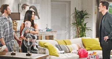 Bold and the Beautiful Spoilers: Thomas Forrester (Matthew Atkinson) - Liam Spencer (Scott Clifton) - Steffy Forrester (Jacqueline MacInnes Wood)