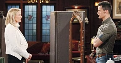 Bold and the Beautiful Spoilers: Brooke Logan (Katherine Kelly Lang) - Thomas Forrester (Matthew Atkinson)