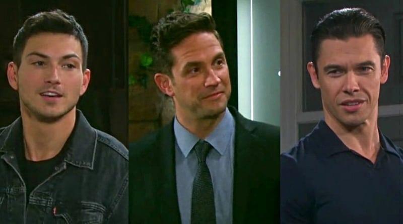 Days of Our Lives Spoilers: Stefan DiMera (Brandon Barash) - Ben Weston (Robert Scott Wilson) - Xander Cook (Paul Telfer)