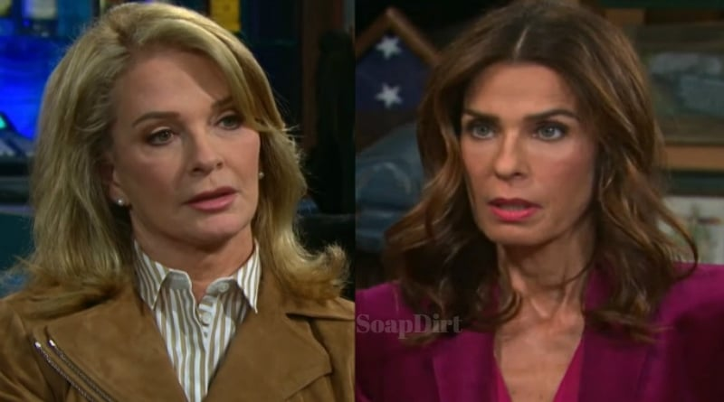 Days of Our Lives Spoilers: Marlena Evans (Deidre Hall) - Hope Brady (Kristian Alfonso)