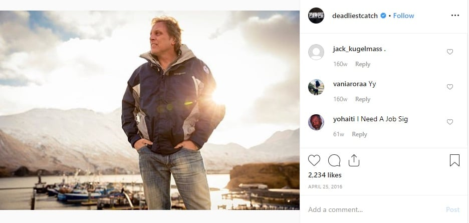 Deadliest Catch: Captain Sig Hansen