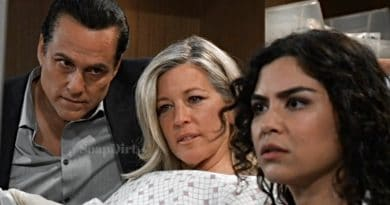 General Hospital: Sonny Corinthos (Maurice Benard) - Carly Corinthos (Laura Wright)