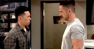 General Hospital Spoilers: Brad Cooper (Parry Shen) - Julian Jerome (William deVry)