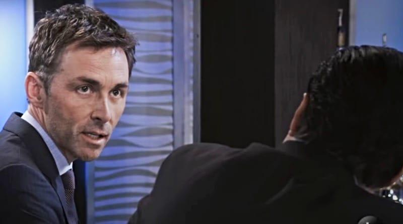 General Hospital Spoilers: Valentin Cassadine (James Patrick Stuart) - Sonny Corinthos (Maurice Benard)