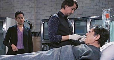 General Hospital Spoilers: Valerie Spencer (Paulina Bugembe) Hamilton Finn (Michael Easton) - Ryan Chamberlain (Jon Lindstrom)