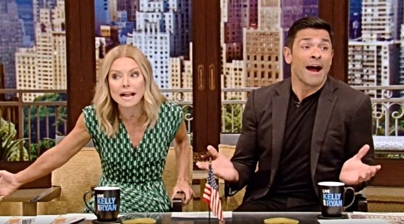 Live With Kelly and Ryan: Kelly Ripa - Mark Consuelos