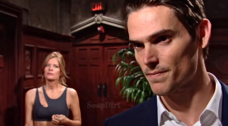 Young and the Restless Spoilers: Phyllis Abbott (Michelle Stafford) - Adam Newman (Mark Grossman)