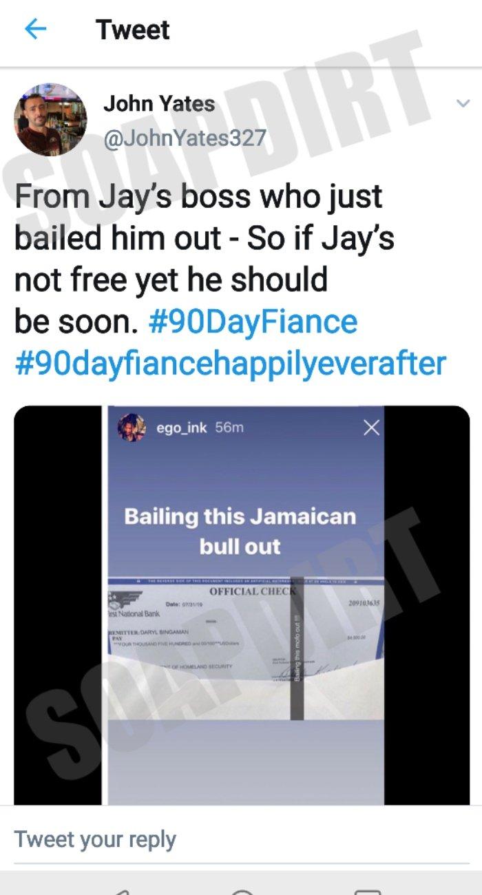 90 Day Fiance: Jay Smith Bail Check