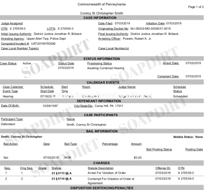 90 Day Fiance: Jay Smith - Court Document