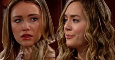 Bold and the Beautiful Spoilers: Flo Fulton (Katrina Bowden) - Hope Logan Annika Noelle)