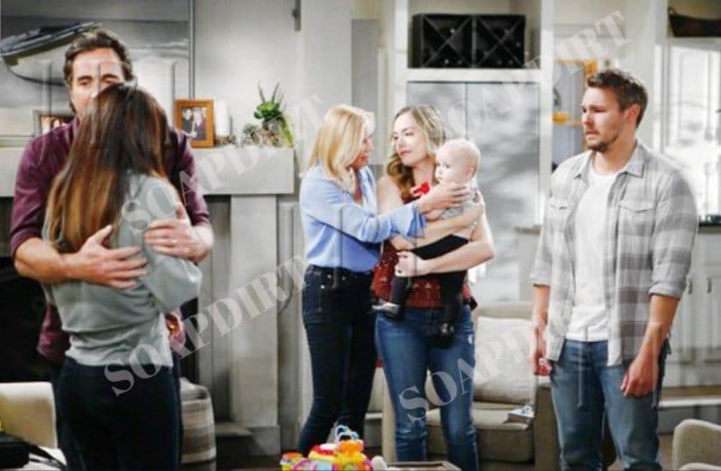 Bold and the Beautiful: Hope Logan (Annika Noelle) - Steffy Forrester (Jacqueline MacInnes Wood) - Beth Spencer (River Davidson) - (Madeline Valdez)