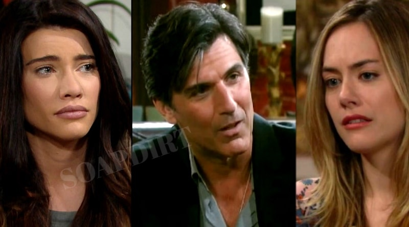 Bold and the Beautiful Spoilers: Steffy Forrester (Jacqueline MacInnes Wood) - Jordan Armstrong (Vincent Irizarry - Hope Logan (Annika Noelle)