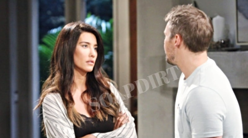 Bold and the Beautiful Spoilers: Steffy Forrester (Jacqueline MacInnes Wood) - Laim Spencer (Scott Clifton)