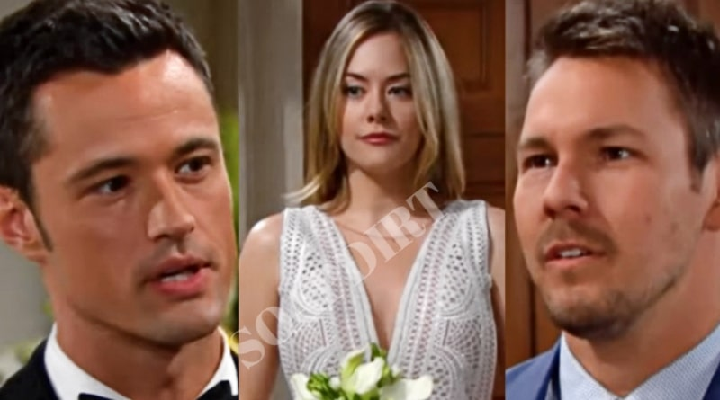 Bold and the Beautiful Spoilers: Thomas Forrester (Matthew Atkinson) - Hope Logan (Annika Noelle) - Liam Spencer (Scott Clifton)