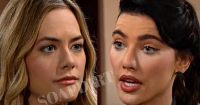 Bold and the Beautiful Spoilers: Hope Logan (Annika Noelle) - Steffy Forrester (Jacqueline MacInnes Wood)