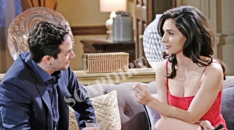 Days of Our Lives Spoilers: Stefan DiMera (Brandon Barash) - Gabi Hernandez (Camila Banus)