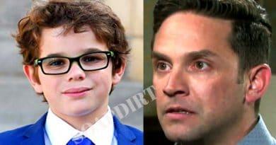 Days of Our Lives: Stefan DiMera (Brandon Barash) - Johnny DiMera (Griffin Kunitz)