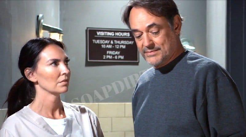 General Hospital Spoilers: Lorraine Miller (Inga Cadranel) - Ryan Chamberlain (Jon Lindstrom)
