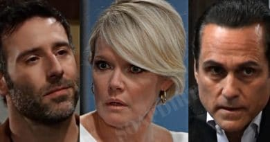 General Hospital Spoilers: Shiloh Archer (Coby Ryan McLaughlin) - Ava Jerome (Maura West) - Sonny Corinthos (Maurice Benard)