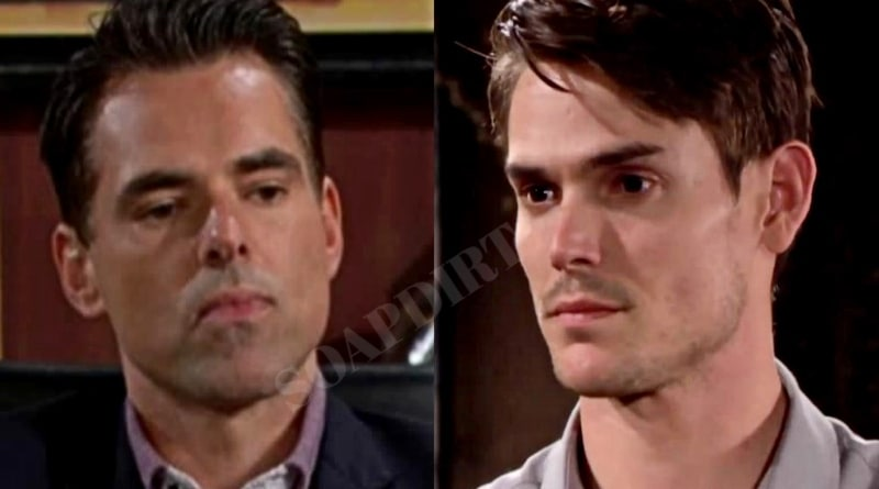 Young and the Restless: Billy Abbott (Jason Thompson) - Adam Newman (Mark Grossman)