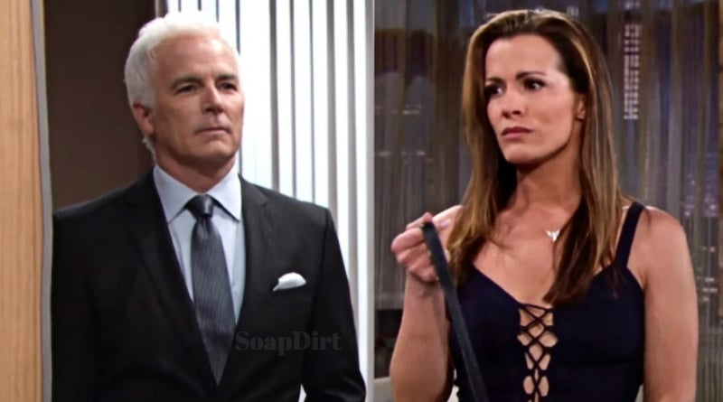 Young and the Restless: calvin Boudreau (John Burke) - Chelsea Newman (Melissa Claire Egan)