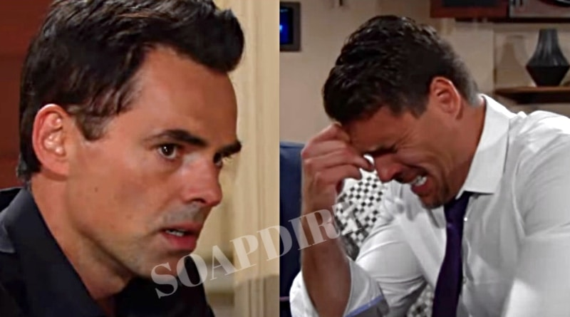 Young and the Restless Spoilers: Billy Abbott (Jason Thompson) - Nick Newman (Joshua Morrow)