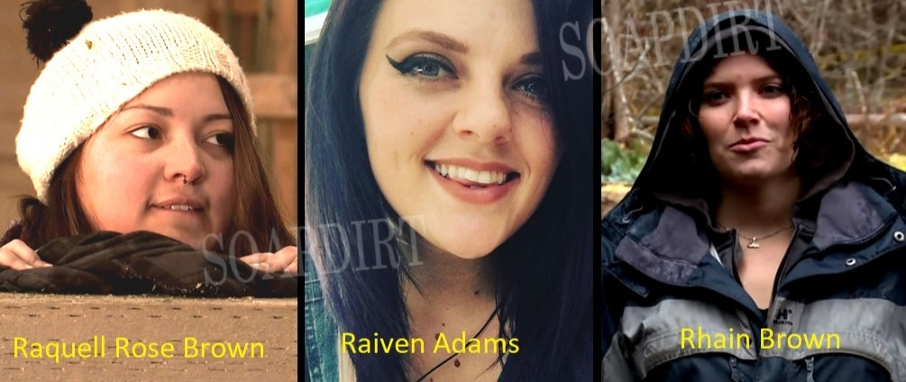 Alaskan Bush People: Raquell Brown - Raiven Adams - Rhain Brown