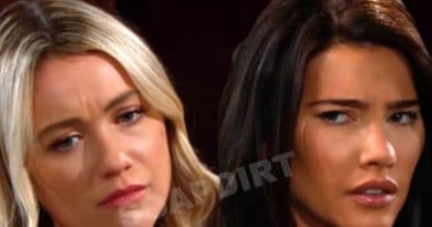 Bold and the Beautiful Spoilers: Flo Fulton (Katrina Bowden) - Steffy Forrester (Jacqueline MacInnes Wood)