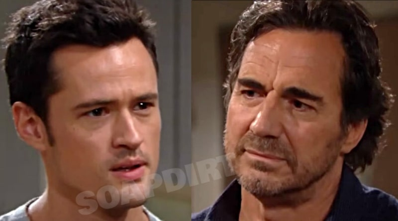 Bold and the Beautiful Spoilers: Thomas Forrester (Matthew Atkinson) - Ridge Forrester (Thorsten Kaye)