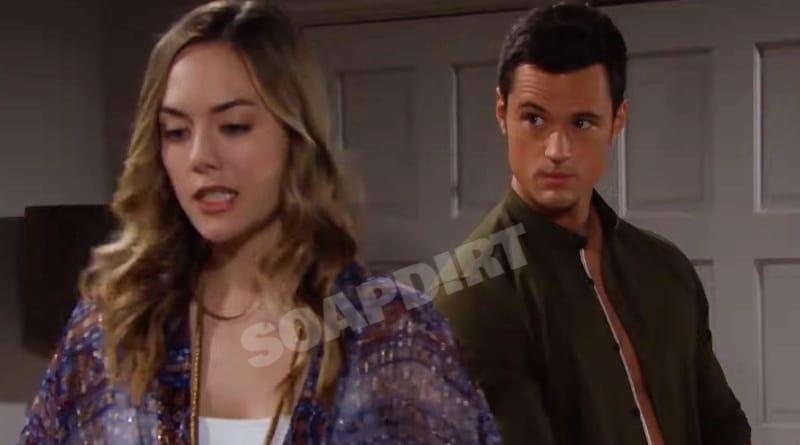 Bold and the Beautiful: Thomas Forrester (Matthew Atkinson) - Hope Logan (Annika Noelle)