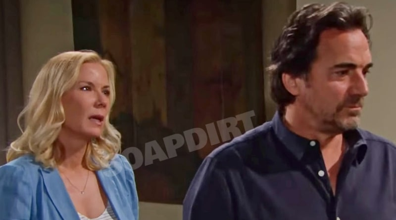 Bold and the Beautiful Spoilers: Brooke Forrester (Katherine Kelly Lang) - Ridge Forrester (Thorsten Kaye)