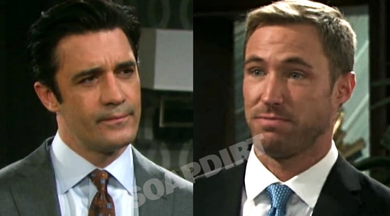 Days of Our Lives Spoilers: Ted Laurent (Gilles Marini) - Rex Brady (Kyle Lowder)